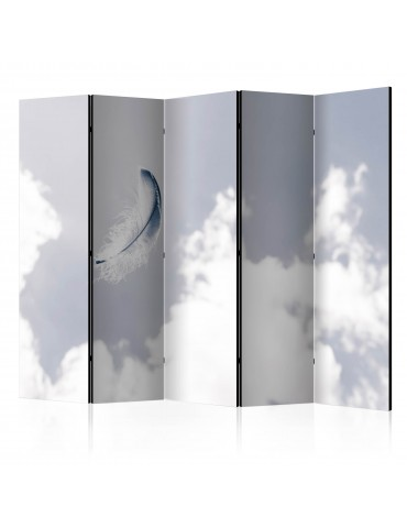 Paravent 5 volets - Angelic Feather II [Room Dividers] A1-PARAVENT1010