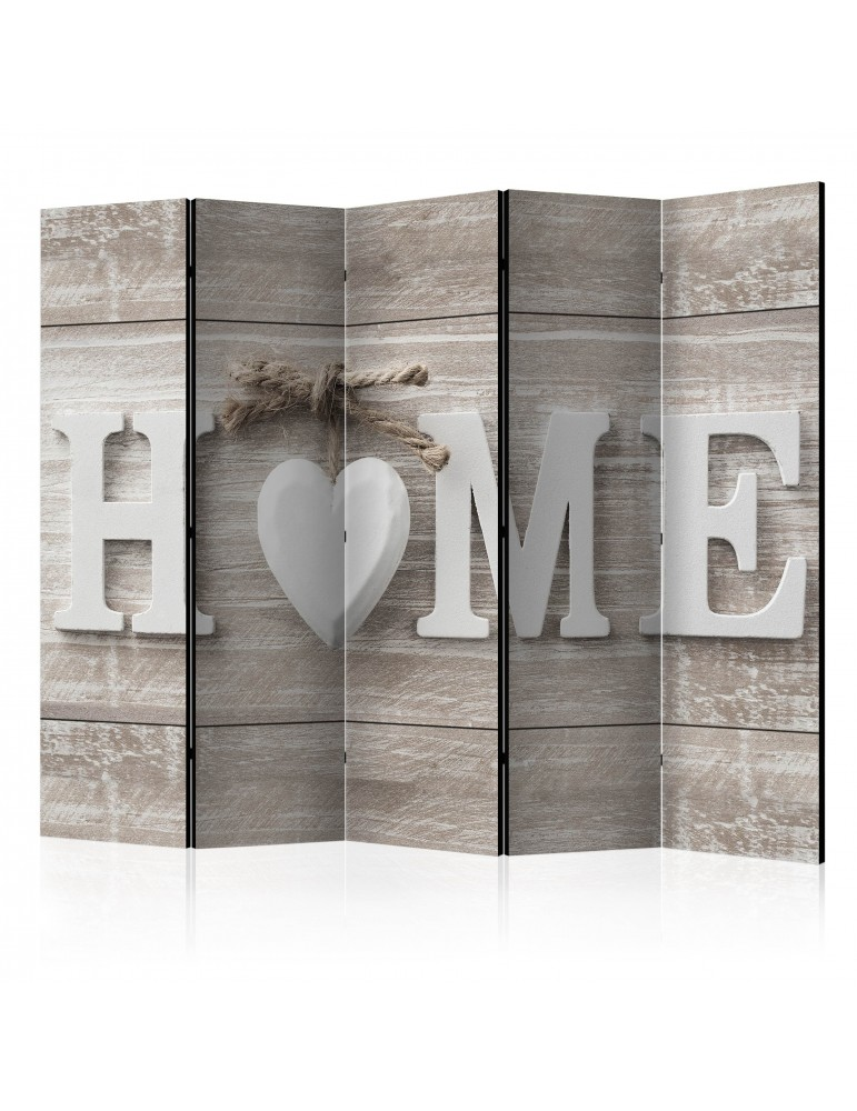 Paravent 5 volets - Room divider - Home and heart A1-PARAVENT1039