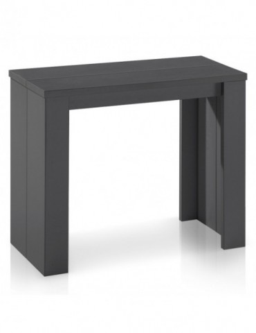 Table Console Brookline Gris Mat at-9011-Gris mat