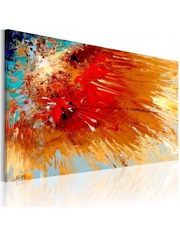Tableau peint à la main - Explosion A1-N2516-MK