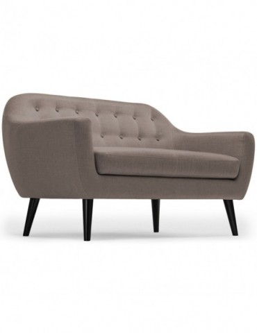 Canapé scandinave 3 places Fidelio Tissu Taupe hy80413taupe