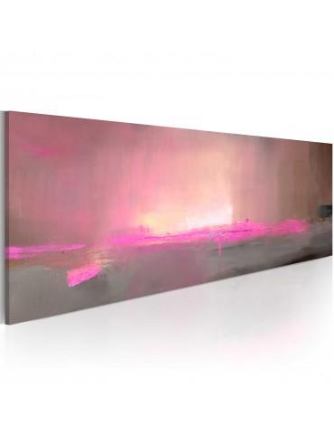 Tableau peint à la main - Lumière rose A1-N1609-MK