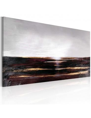 Tableau peint à la main - Océan noir A1-0101-22MK