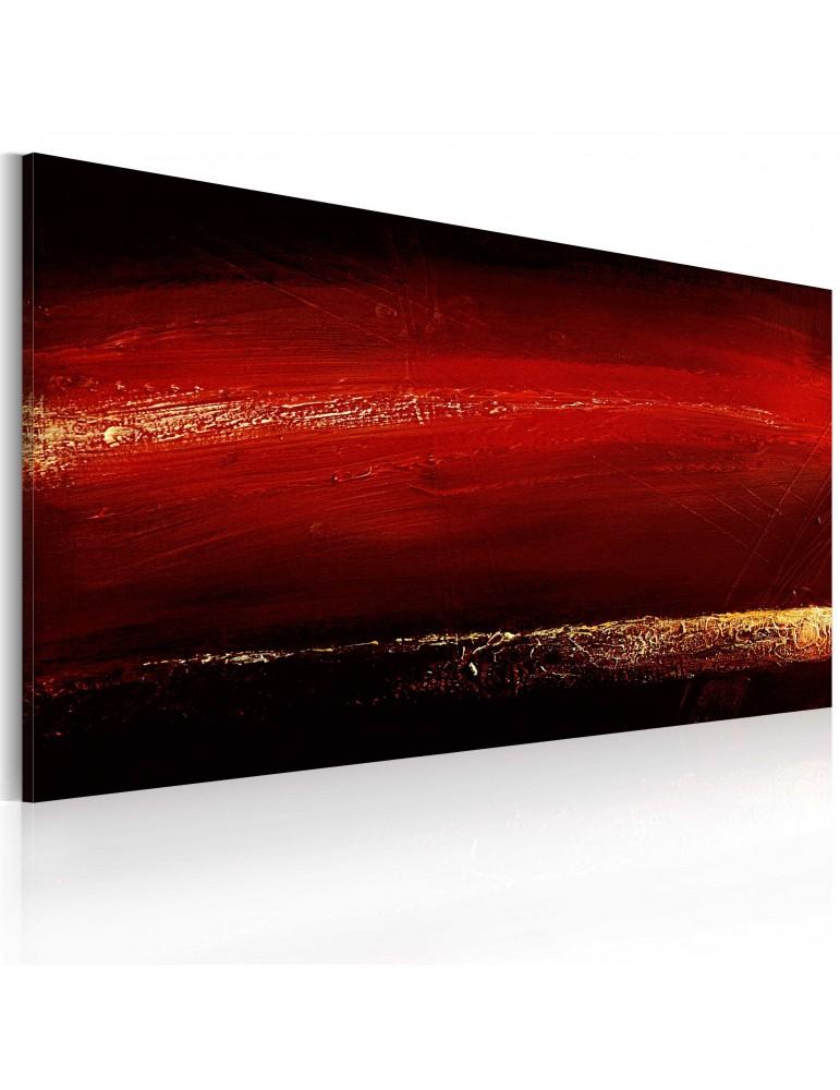 Tableau peint à la main - Rouge à lèvres A1-0101-27MK