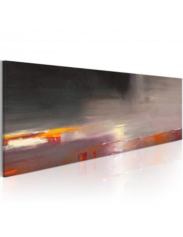 Tableau peint à la main - Mer cachée dans le brouillard A1-N1610-MK