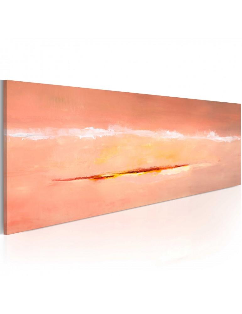 Tableau peint à la main - Aurore abstraite A1-N1614-MK