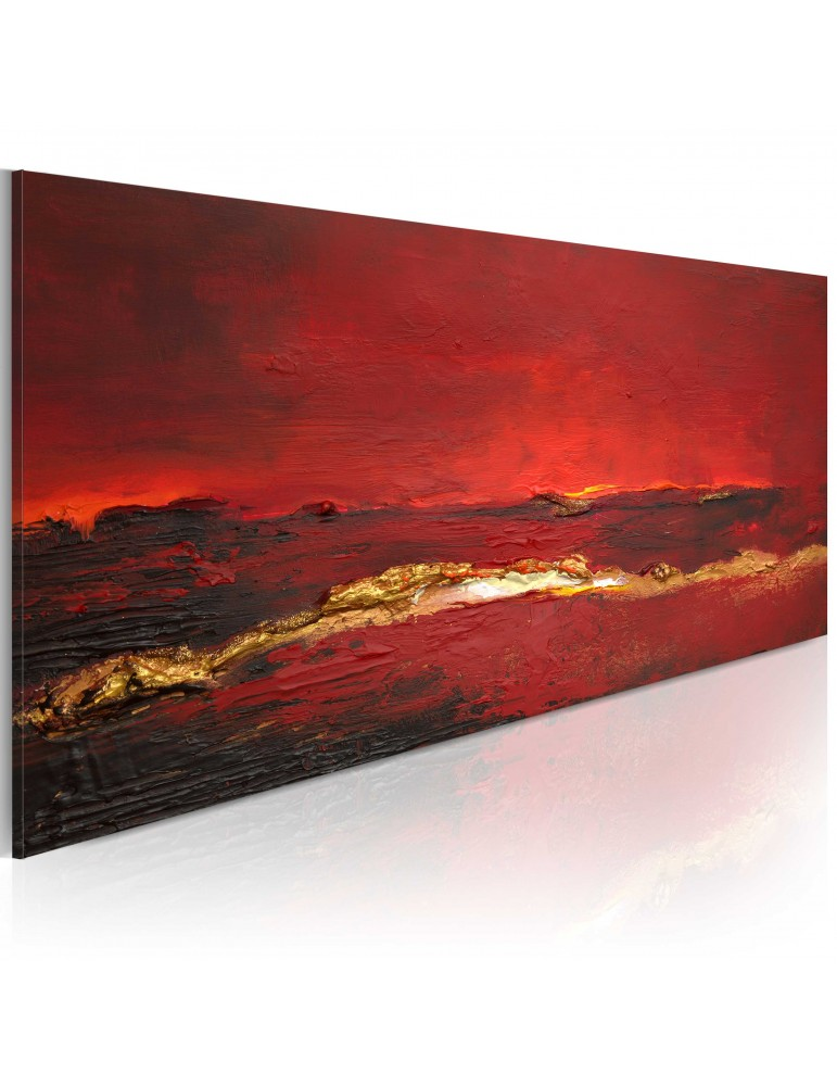 Tableau peint à la main - Rougeur de l'océan A1-N1615-MK