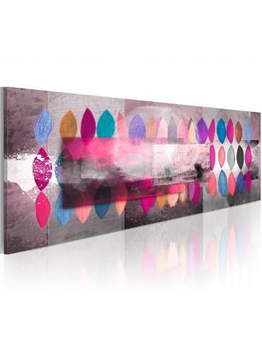 Tableau peint à la main - Palette de couleurs A1-N2612MK