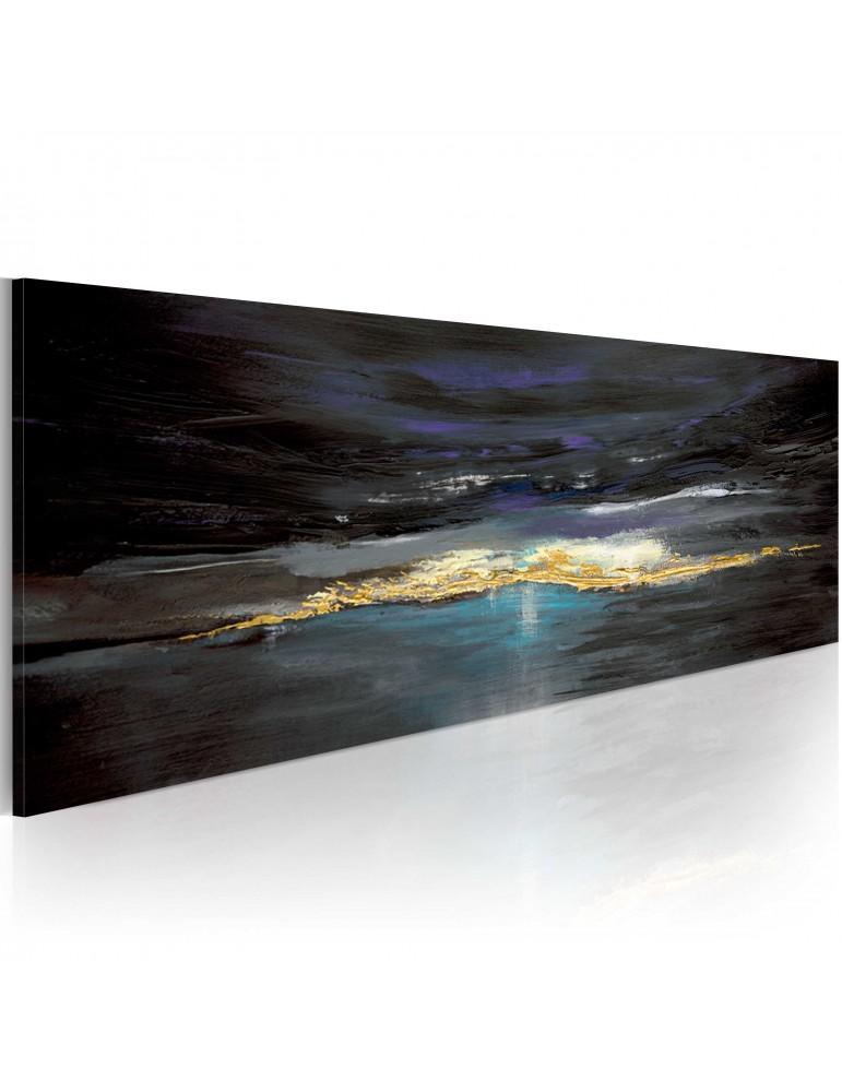 Tableau peint à la main - Après l'orage vient le soleil A1-N1616-MK