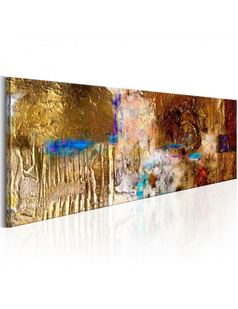 Tableau peint à la main - Golden Structure A1-N6265MK