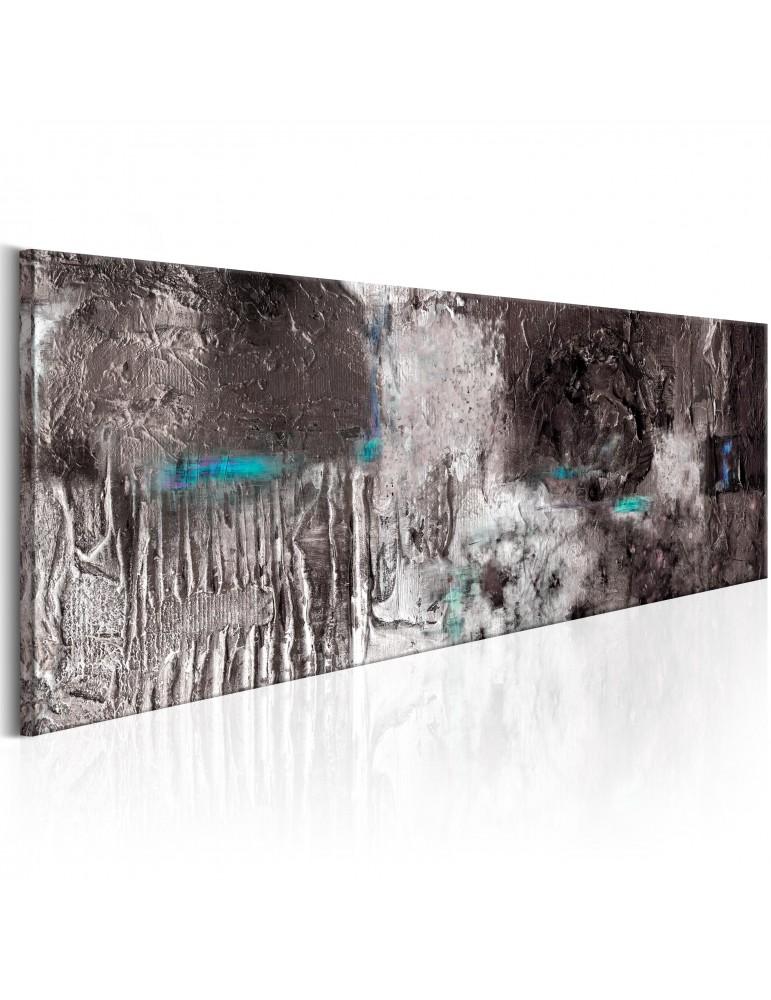 Tableau peint à la main - Silver Machine A1-N6266MK