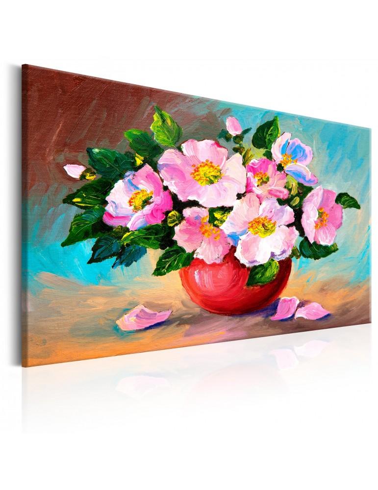 Tableau peint à la main - Spring Bunch A1-N6263MK
