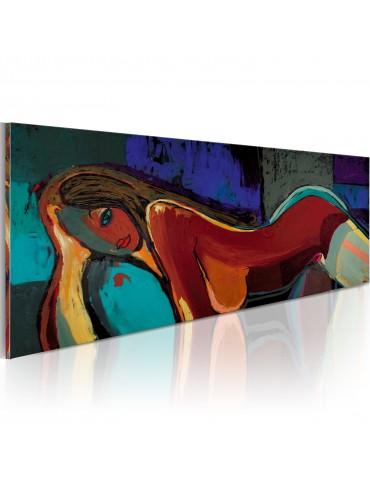 Tableau peint à la main - Sieste A1-N2511-MK