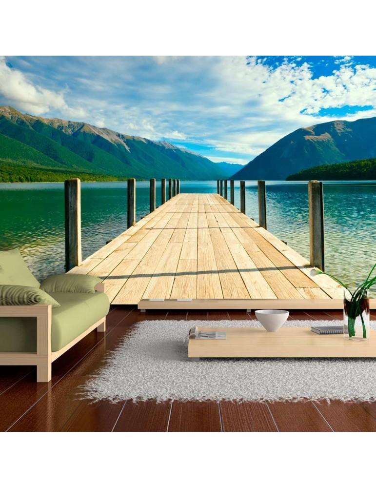 Papier peint - Entre lac et montagnes A1-F4TNT0446-P
