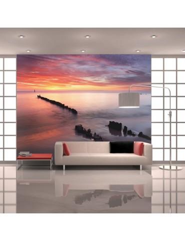 Papier peint - Lever du soleil sur la Mer Baltique A1-F4TNT0445-P