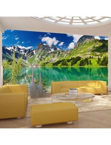 Papier peint - Lac de montagne A1-F4TNT0496-P