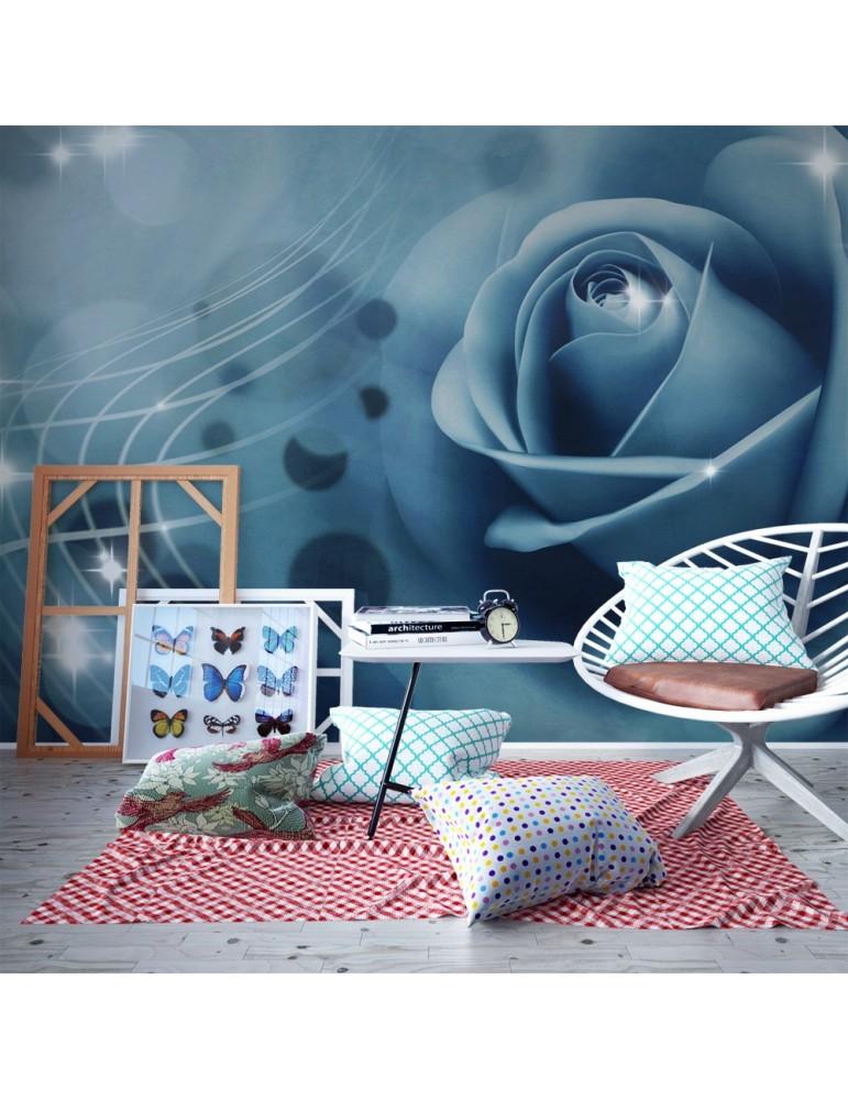 Papier peint - Blue rose A1-F4TNT0536