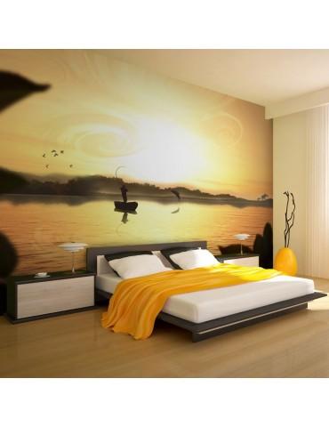 Papier peint - Une soirée de pêche A1-F4TNT0474-P