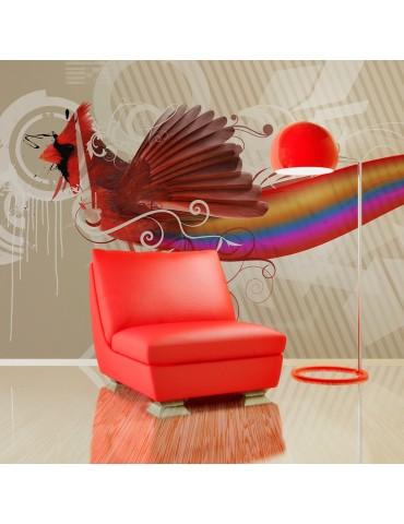 Papier peint - Oiseau arc-en-ciel A1-F4TNT0147-P