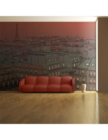 Papier peint - Un soir insolite à Paris A1-F4TNT0175-P