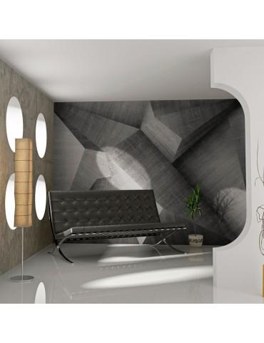 Papier peint - Béton - illusion d'optique A1-F4TNT0151-P
