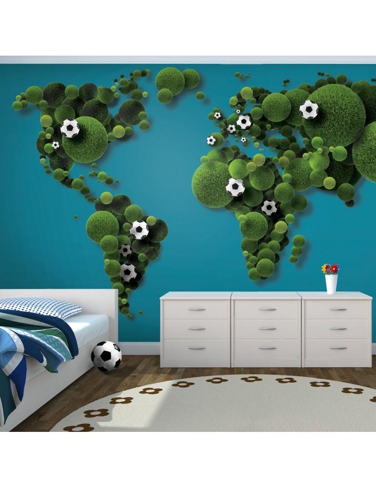 Papier Peint A World Of Football A1 F4tnt0124 P