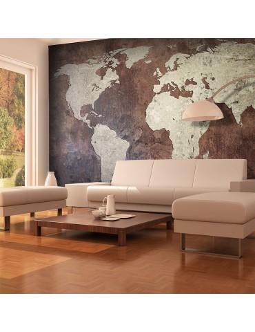 Papier peint - continents de fer A1-F4TNT0134-P