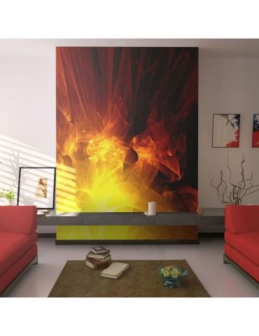 Papier peint - abstraction - feu A1-LFTNT0037