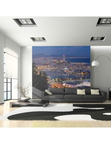 Papier peint - Barcelone: nuit A1-LFTNT1103