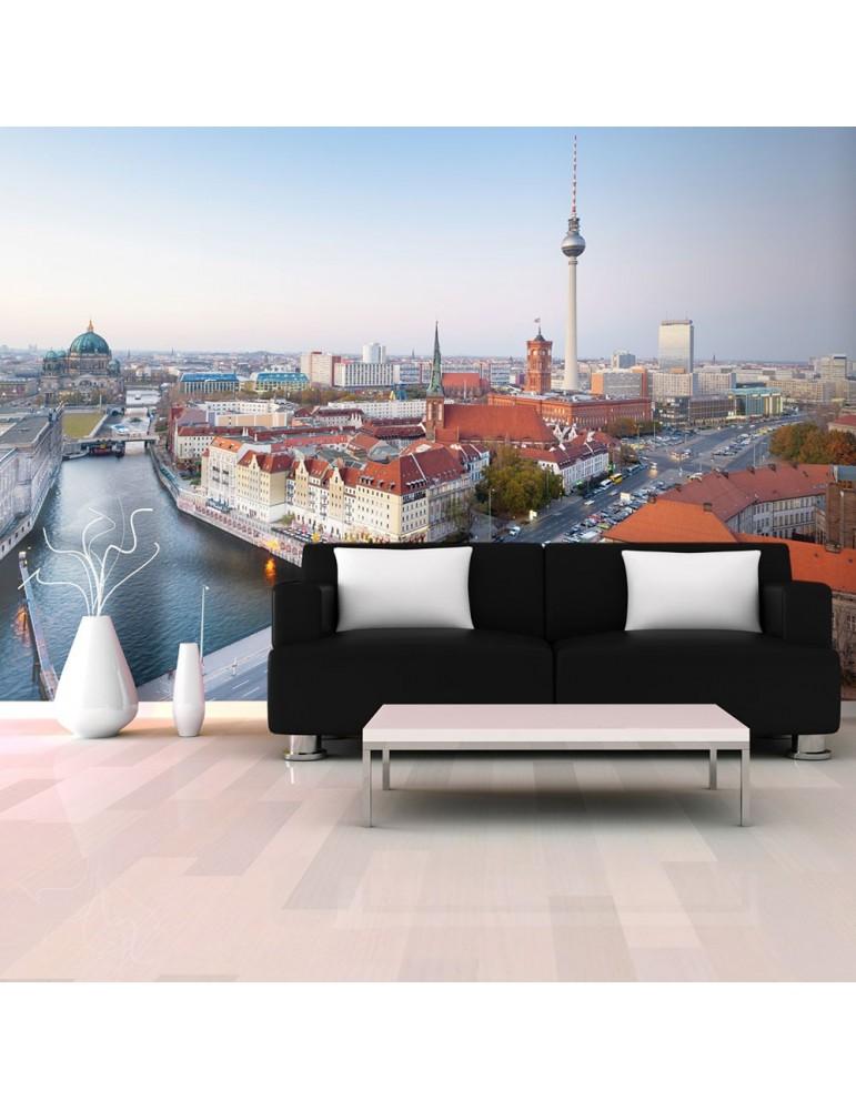 Papier peint - Berlin view from Fischerinsel A1-LFTNT1149