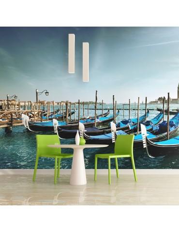 Papier peint - Gondoles du Grand Canal, Venise A1-LFTNT1157