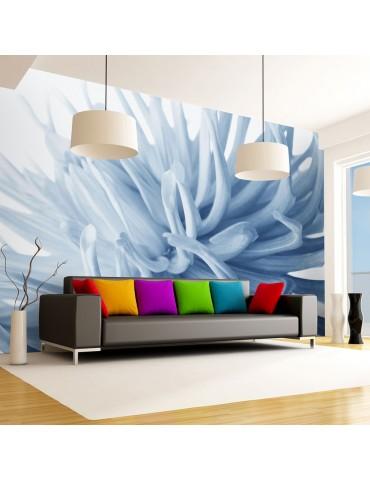 Papier peint - Fleur - dahlia bleu A1-LFTNT1356