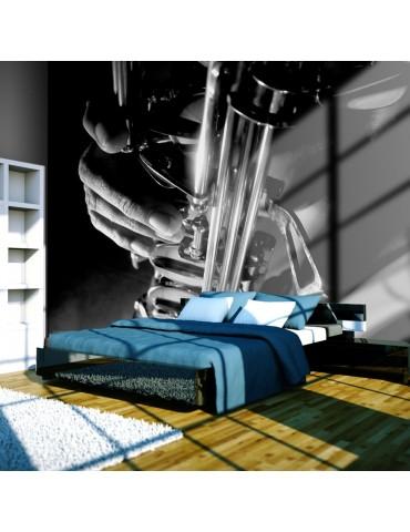 Papier peint - Musique et saxophone A1-LFTNT1450