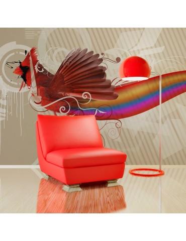 Papier peint - Oiseau arc-en-ciel A1-LFTNT0836