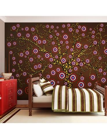 Papier peint - abstraction: arbre A1-LFTNT0827