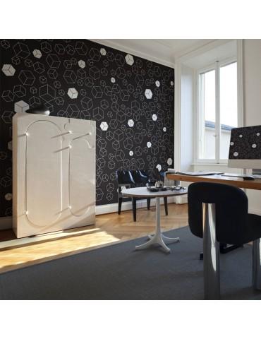 Papier peint - Black-and-white solids A1-LFTNT0793