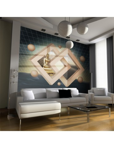 Papier peint - Nouvelle dimension du bouddhisme A1-LFTNT1469