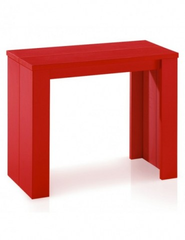 Table Console Brookline Rouge at9011rouge