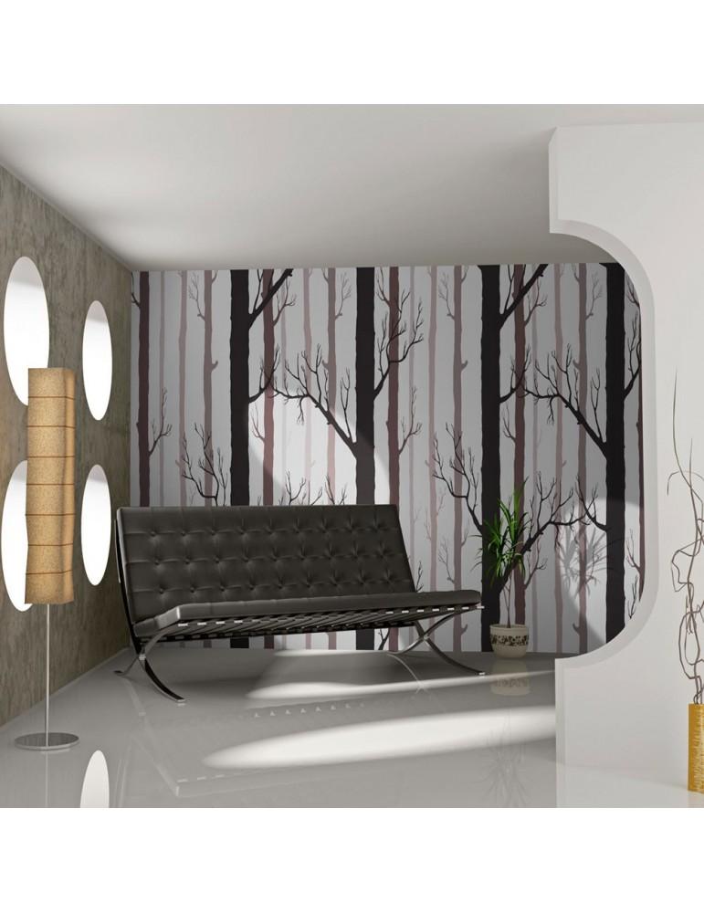 Papier peint - Forest pattern A1-LFTNT0773