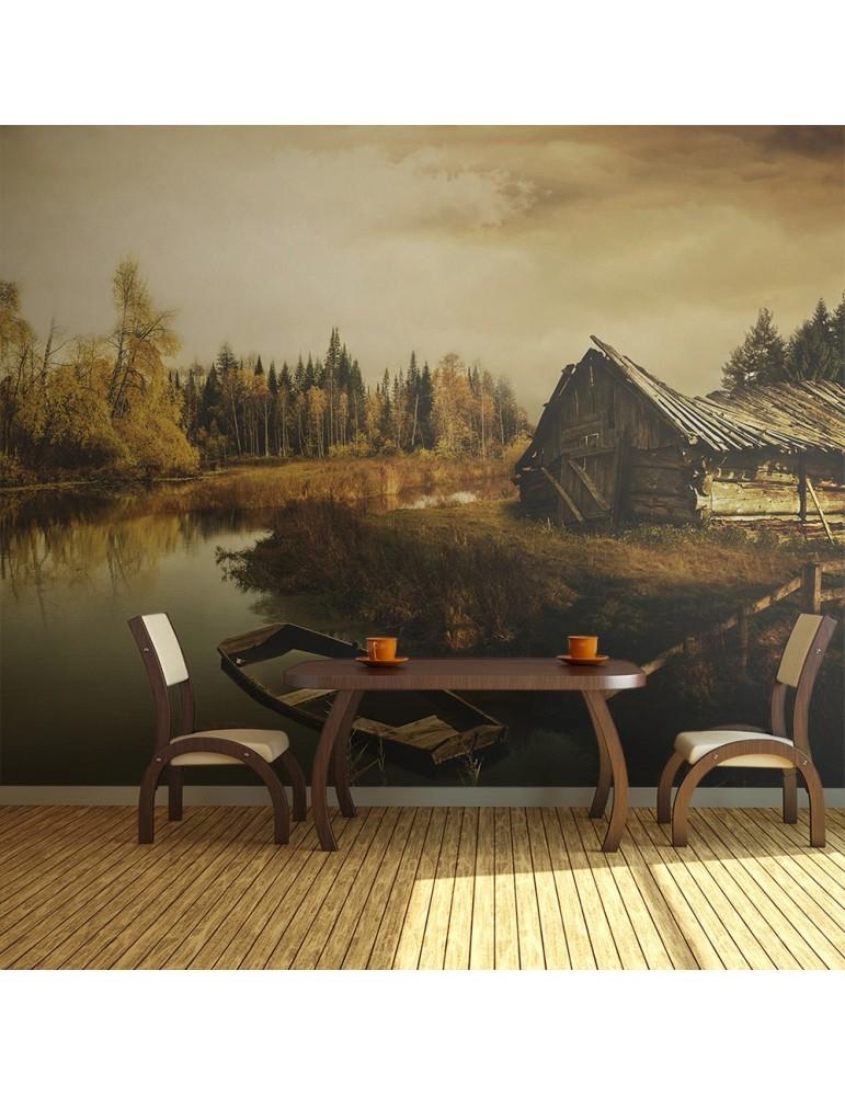 Papier peint - Desolate hut A1-LFTNT0749