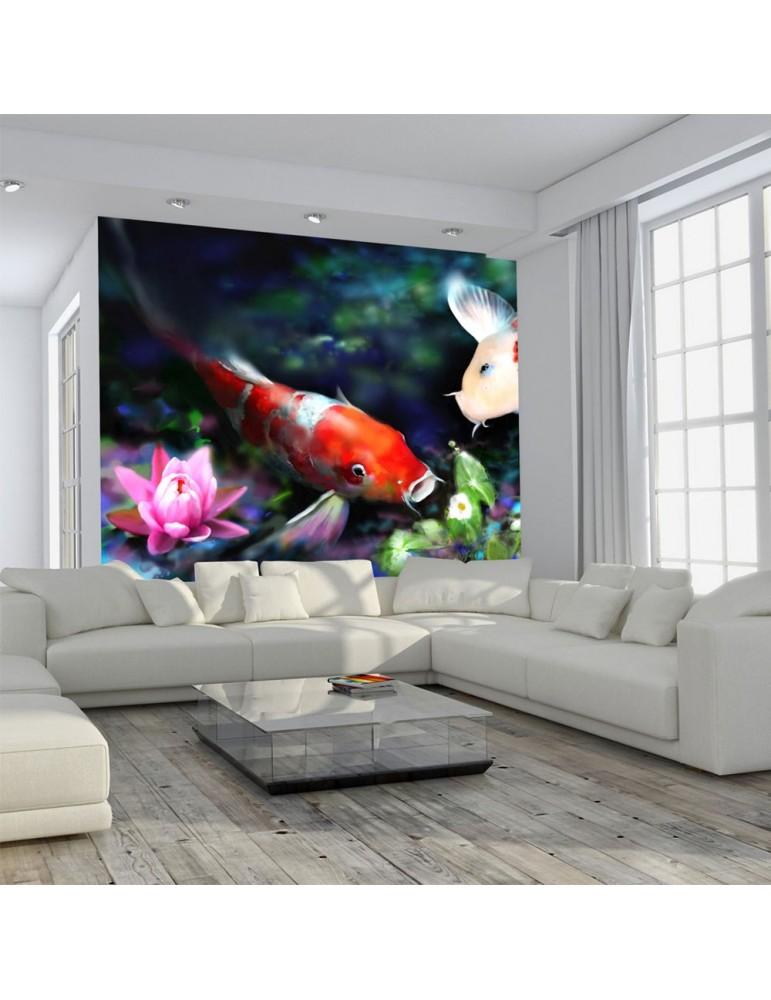 Papier peint - Underwater aquarium A1-LFTNT1613