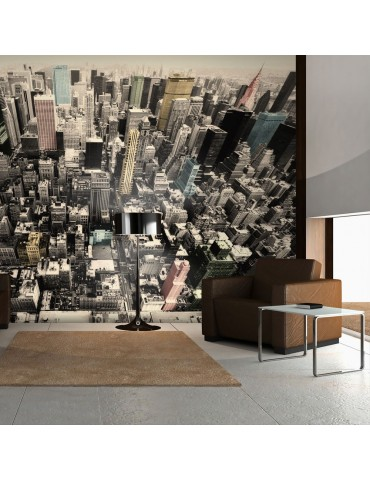 Papier peint - New York - la vie en pastels A1-LFTNT0734