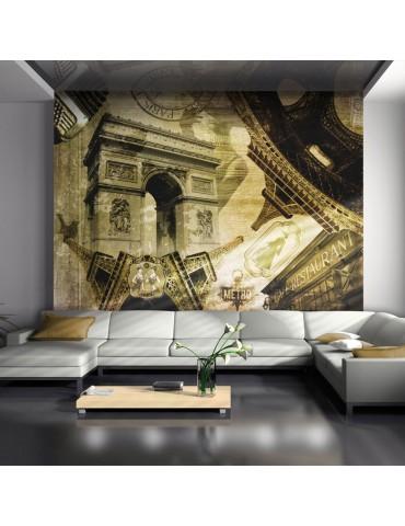 Papier peint - Collage parisien A1-LFTNT0724