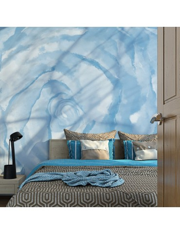 Papier peint - rose (bleu) A1-LFTNT1495