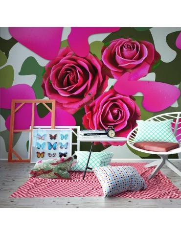 Papier peint - Pink craziness A1-LFTNT1503