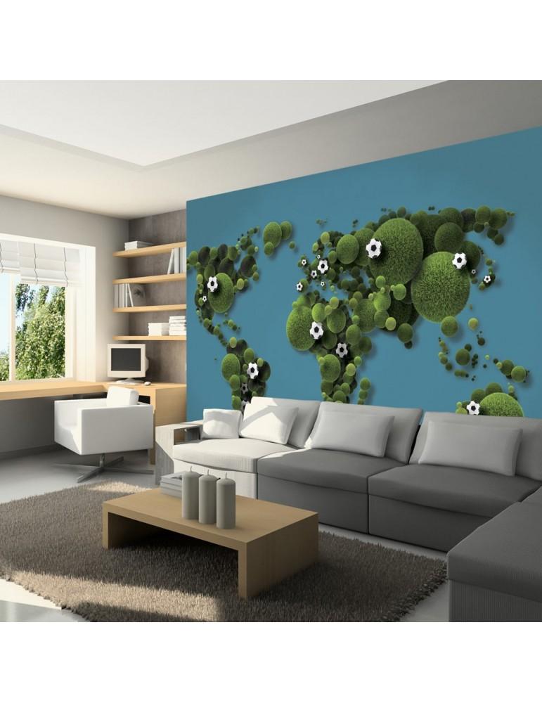 Papier peint - A World of football A1-LFTNT0448