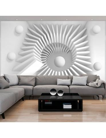 Papier peint - White jigsaw A1-XXLNEW010893
