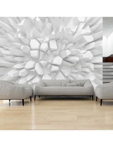 Papier peint - White dahlia A1-SNEW011379