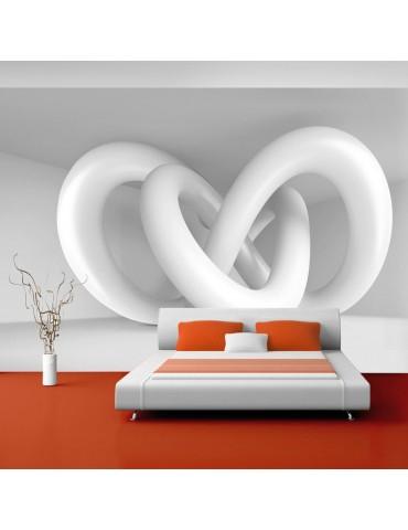 Papier peint - White weave A1-XXLNEW010839
