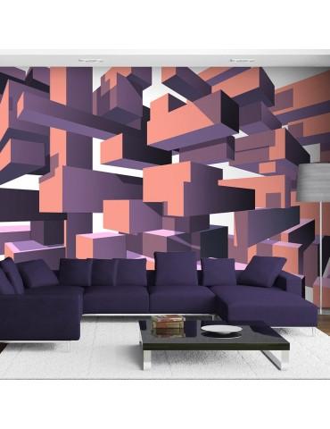 Papier peint - Dancing rectangles A1-XXLNEW010998